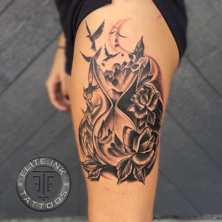 Hourglass Tattoo Hourglass And Tattoos And: 62 Best Hourglass Tattoo Design Ideas With Meaning