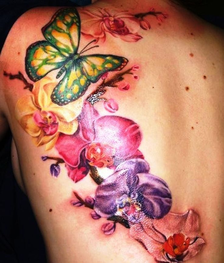 7d13bc21397d6 72 Best Orchid Tattoo Design Ideas With Meaning