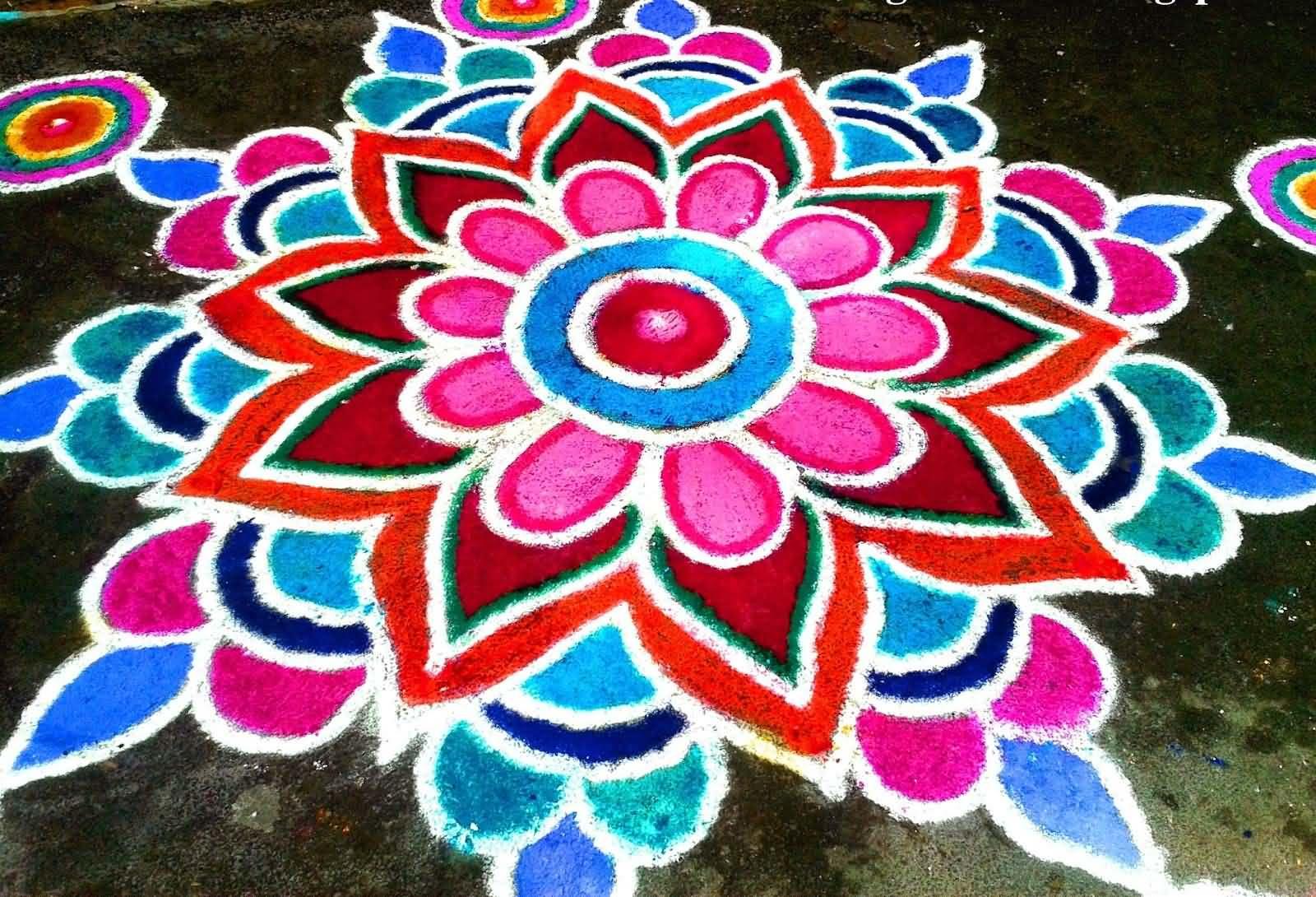 30 Most Beautiful Rangoli Design Ideas For Diwali Decoration