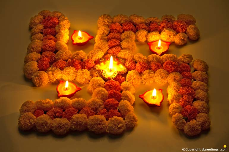 35 best diwali decoration ideas pictures for Home decorations in diwali