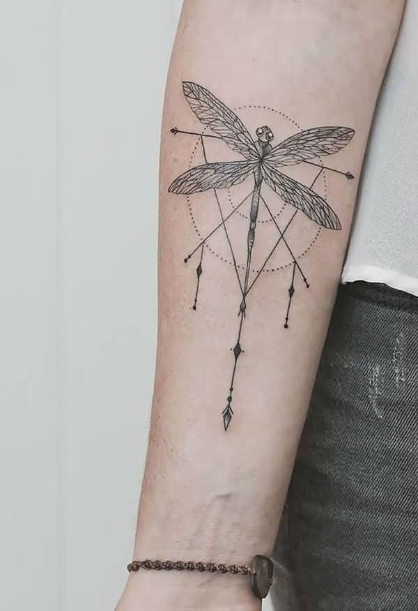cb10bfd24 80 Best Dragonfly Tattoo Designs And Meaning