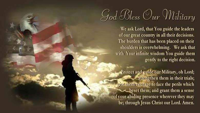 God bless our military happy Veterans Day