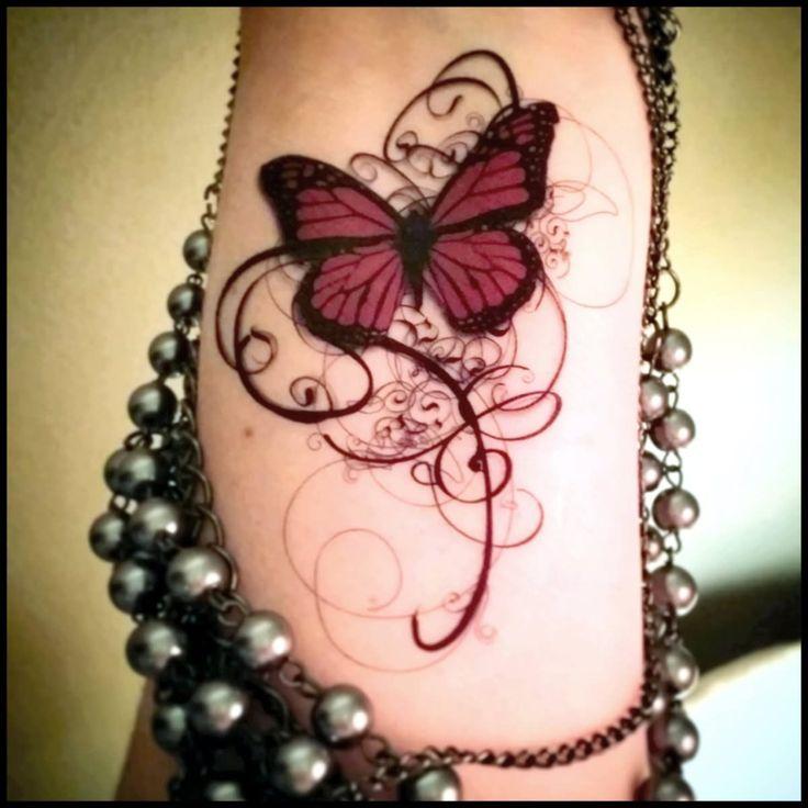 b3a2b4cbca7cd 50 Most Incredible Butterfly Tattoo Design Ideas