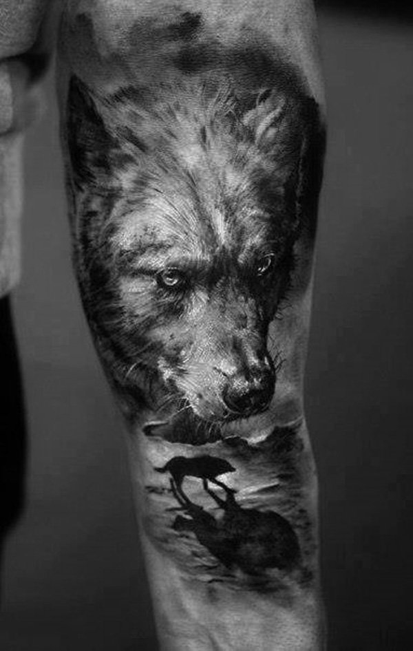 4fa616b02c548 52 Beautiful Wolf Tattoo Designs With Meanings