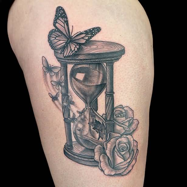 62 best hourglass tattoo design ideas with meaning. Black Bedroom Furniture Sets. Home Design Ideas