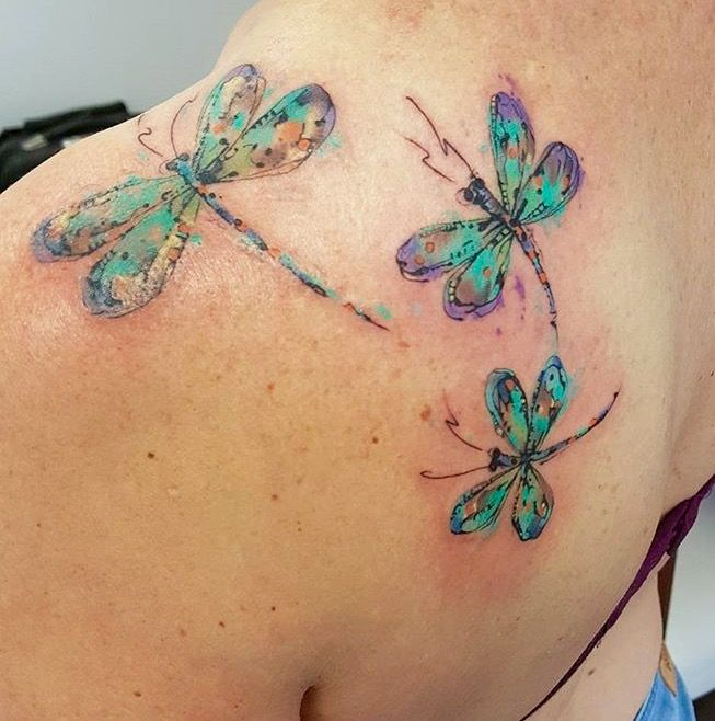 80 Best Dragonfly Tattoo Designs And Meaning