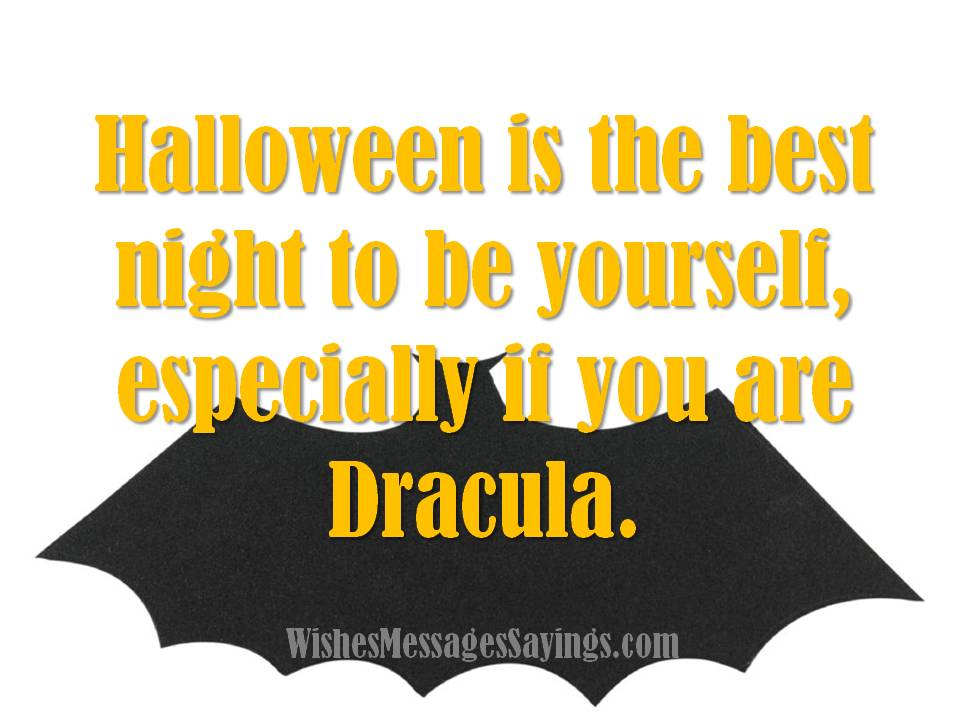 Halloween Is The Best Night To Be Yourself Especially If You Are Dracula  Image
