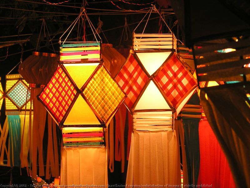 Hanging Lanterns For Diwali Decoration