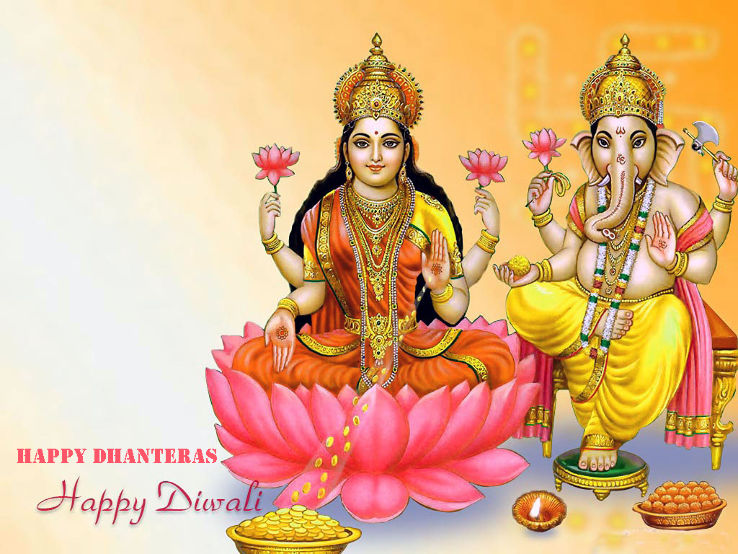 Happy Diwali And Dhanteras Wallpapers: 50 Best Dhanteras 2017 Greeting Pictures And Images