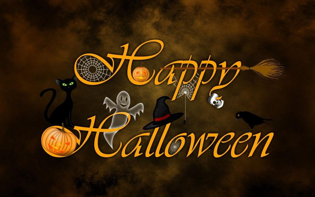 happy halloween cool logo image - Cool Happy Halloween Pictures