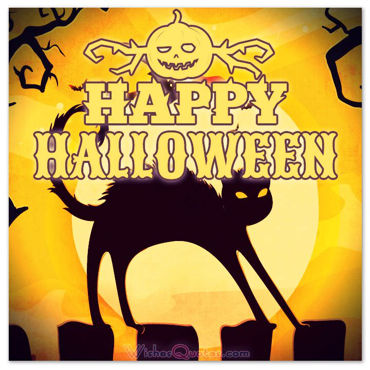 50 Best Happy Halloween Quotes Wishes Greetings And Sayings With Pictures: 80 Best Halloween Greeting Ideas