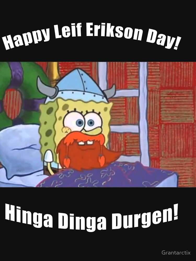 Happy Leif Erikson Day...