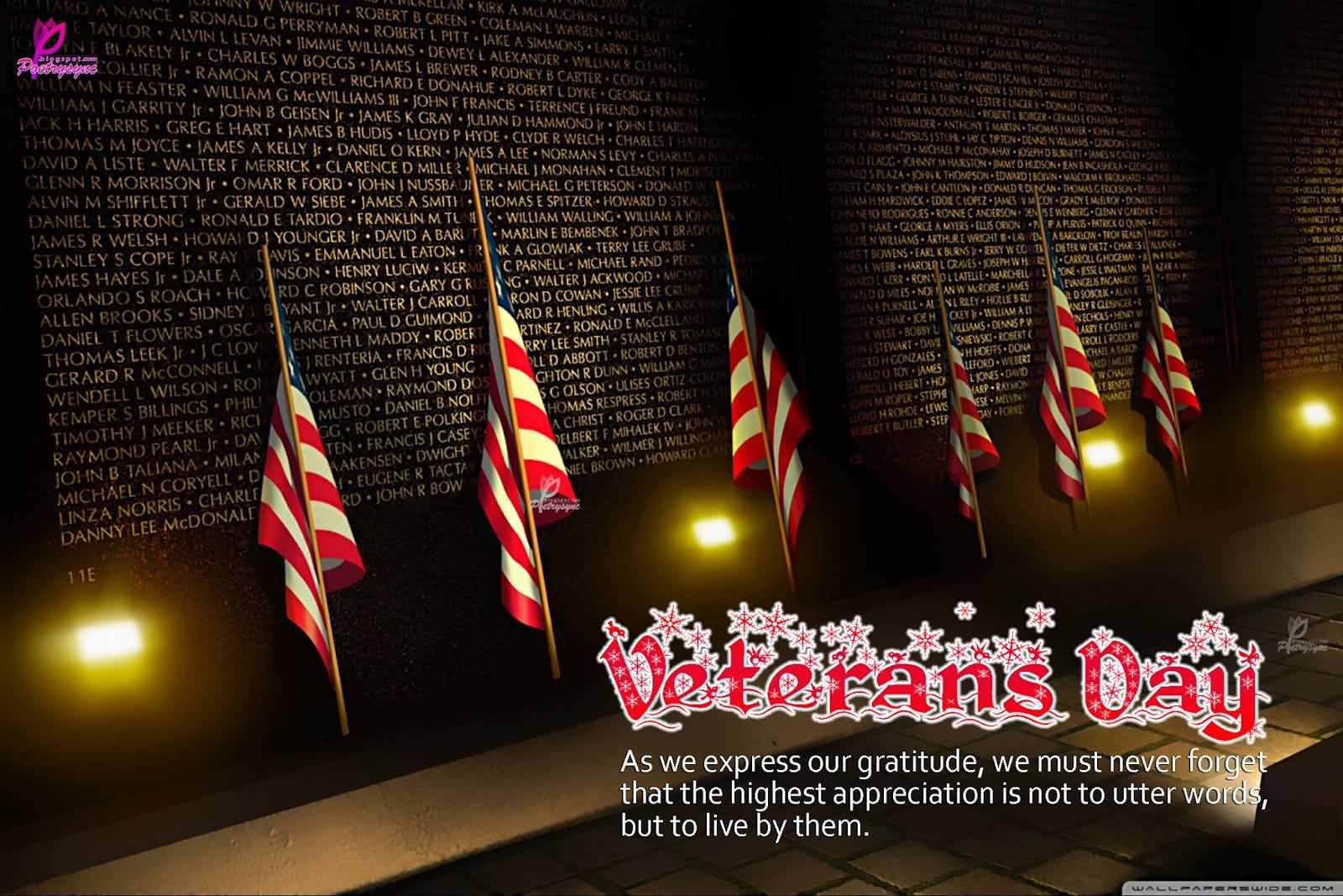 happy veterans day wallpaper