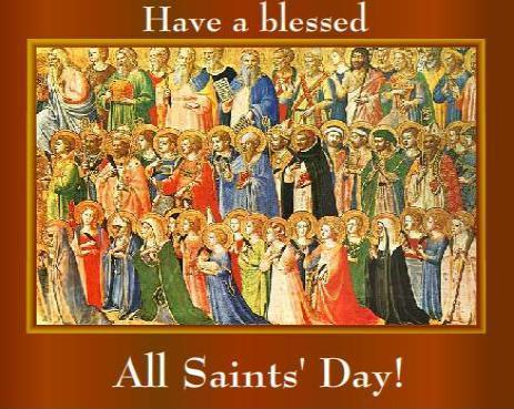 Image result for all saints day image