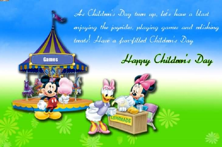 Have A Fun Filled Childrens Day Happy Childrens Day Picture