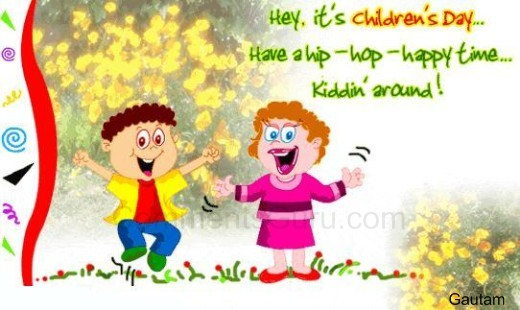 Have A Hip Hop Time Happy Children S Day Funny Cartoons Picture