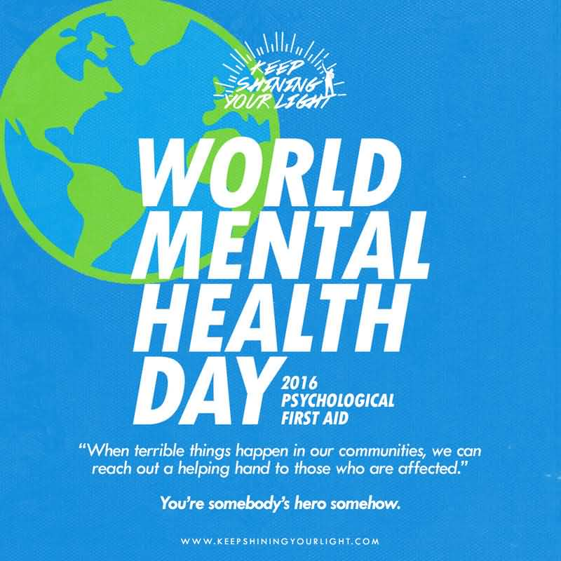 Keep Shining Your Light World Mental Health Day
