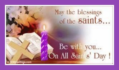 60 most amazing all saints day greeting pictures and images may the blessings of the saints be with you on all saints day m4hsunfo