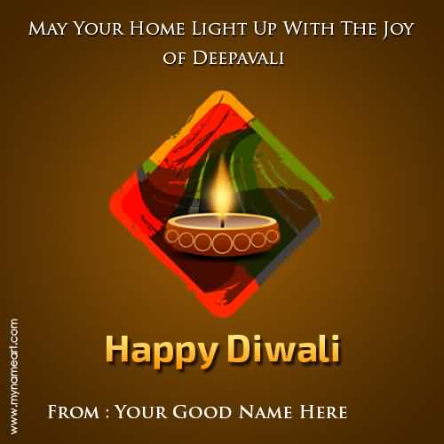 May your home light up with the joy of deepavali happy diwali may your home light up with the joy of deepavali happy diwali greeting card m4hsunfo