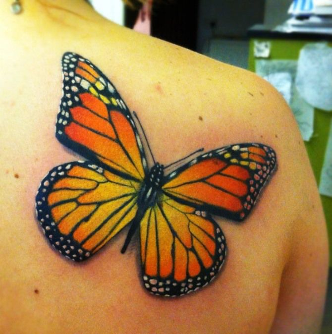 b288f857480cb 50 Most Incredible Butterfly Tattoo Design Ideas