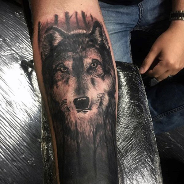52 beautiful wolf tattoo designs with meanings. Black Bedroom Furniture Sets. Home Design Ideas