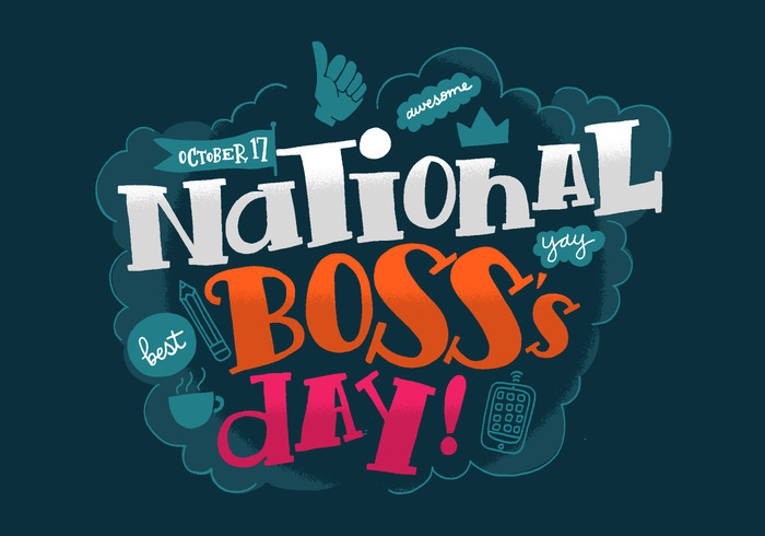 October 17 national boss day greeting card m4hsunfo