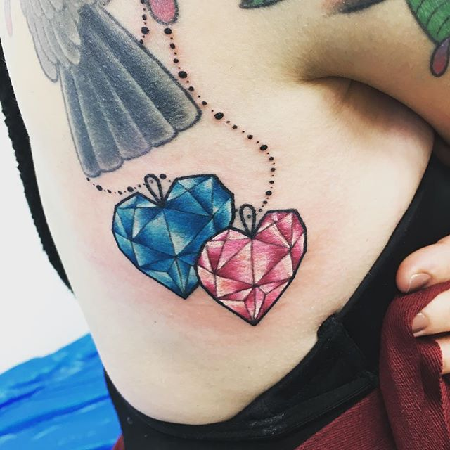 50 most beautiful diamond tattoo design ideas