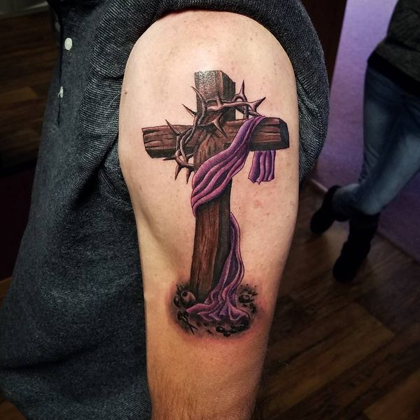 Incredible cross tattoo designs