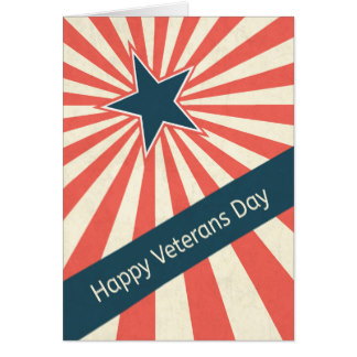 50 most amazing veterans day wishes retro star with sunburst for happy veterans day greeting card m4hsunfo