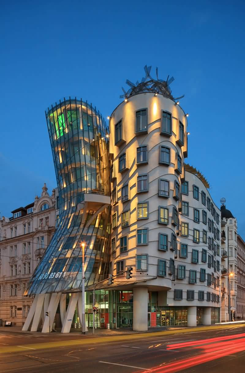 40+ Most Beautiful The Dancing House In Prague Pictures