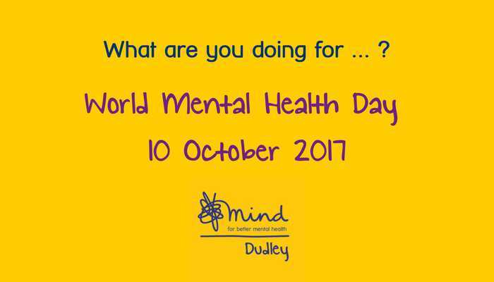 World Mental Health Day 10 October 2017