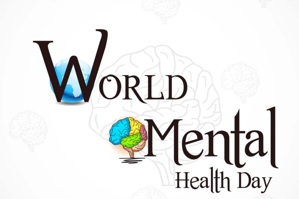 World-Mental-Health-Day-2017-Human-Brain-In-Background World Mental Health Day
