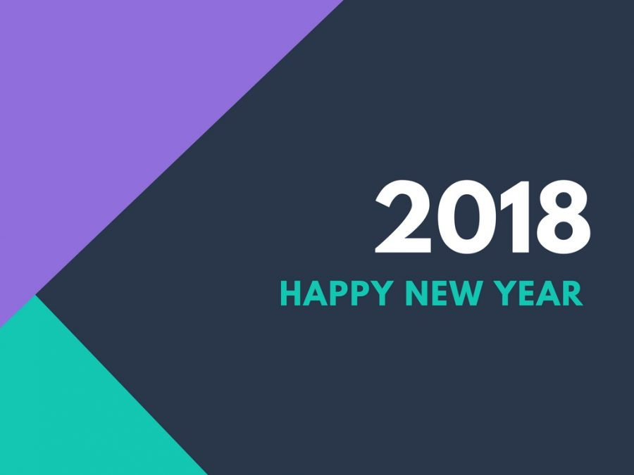 2018 happy new year ecard
