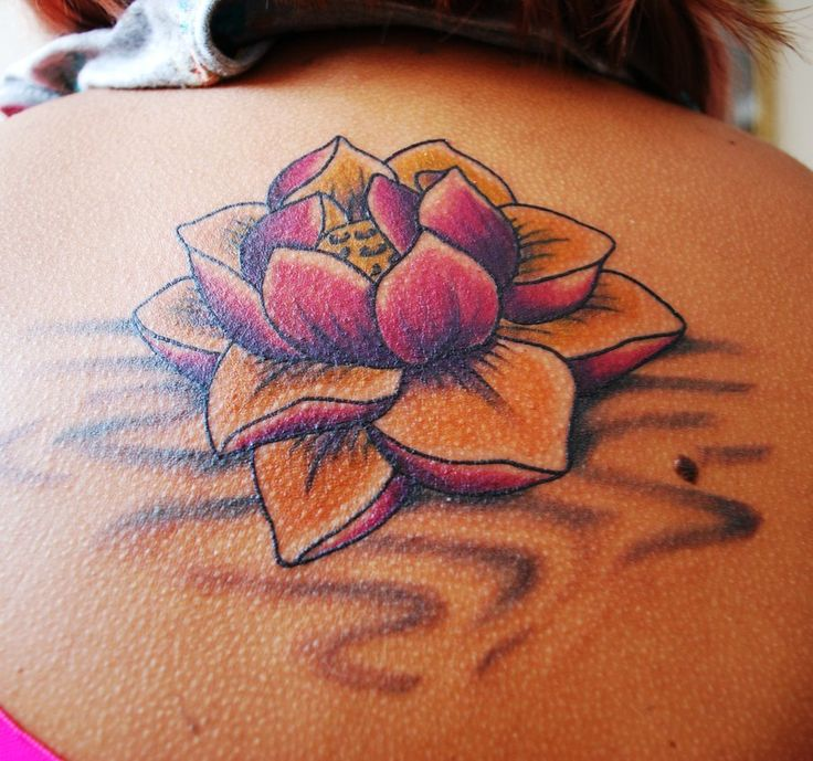 Lotus Shoulder Tattoos Askideascom