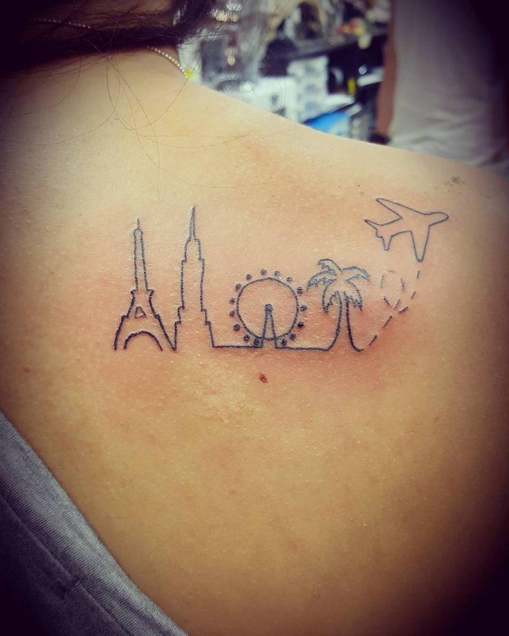 101+ Best Travel Tattoo Designs & Ideas