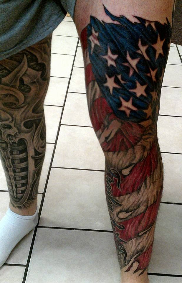 50 most beautiful flag tattoo design ideas. Black Bedroom Furniture Sets. Home Design Ideas