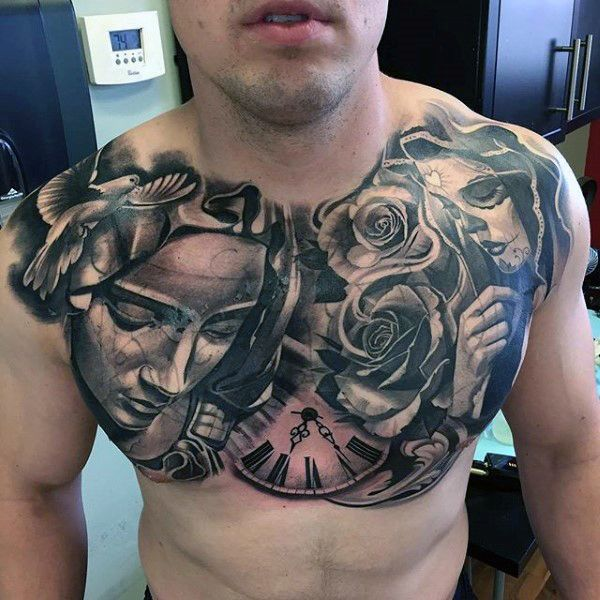 101+ Best Chest Tattoos For Men