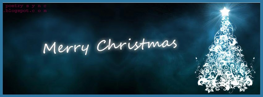 Beautiful Blue Christmas Facebook Covers Merry Christmas Wishes