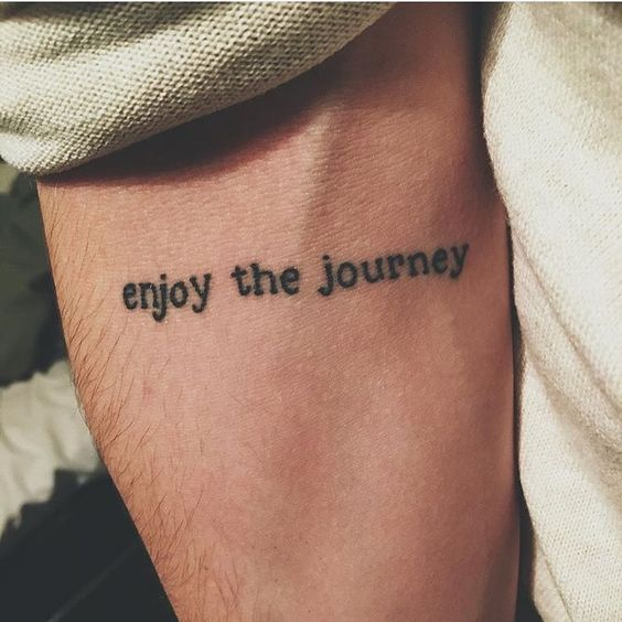 Travel Tattoo On Arm