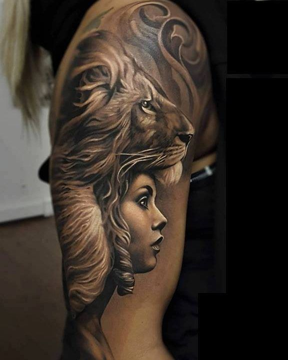 18 Amazing Leo Sleeve Tattoos: 80 Most Amazing Lion Tattoo Design Pictures And Images