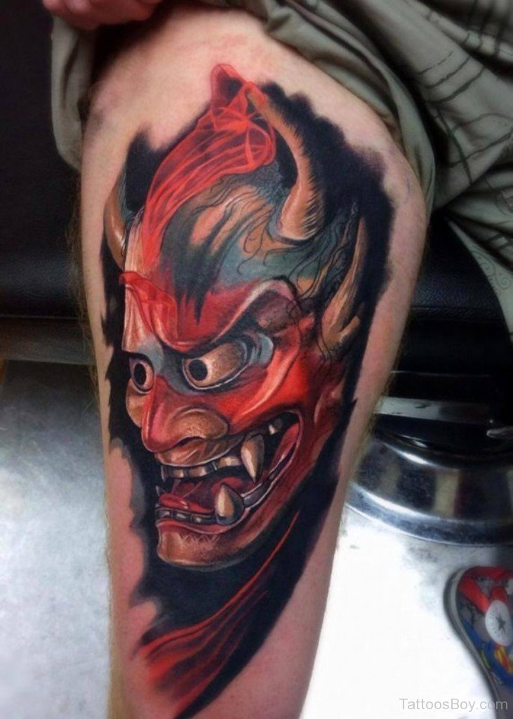 Do You Believe In Meanings Behind Demonic Tattoos ... |Evil Devil Tattoos