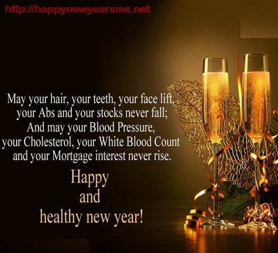 healthy new year wishes