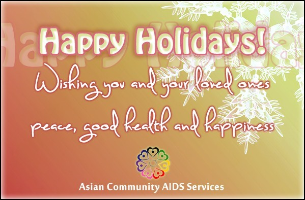 happy holidays wishing you and your loved ones peace good health and