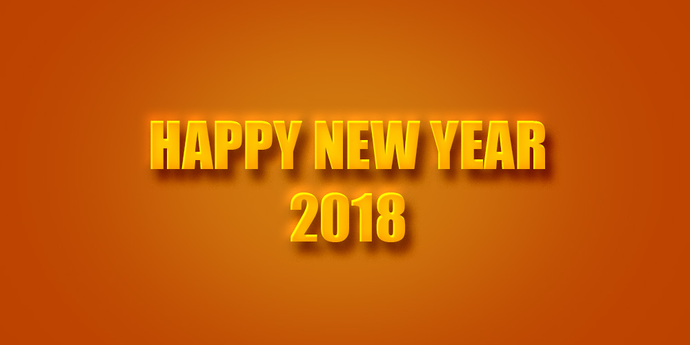 happy new year 2018 wishes wallpaper