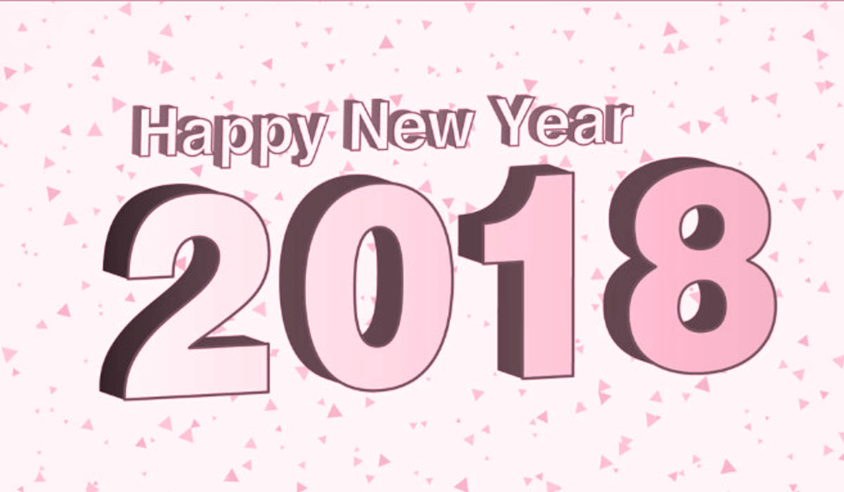 Happy New Year 2018 Wishes Image