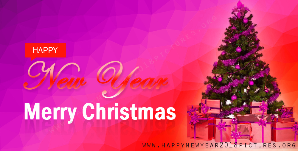Happy new year merry christmas gift boxes and christmas tree picture negle Choice Image