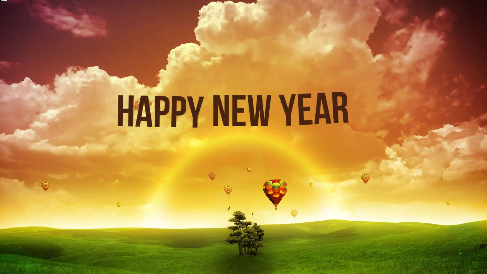 Happy New Year 2017 HD Nature Wallpaper - Happy New Year 2017 ...