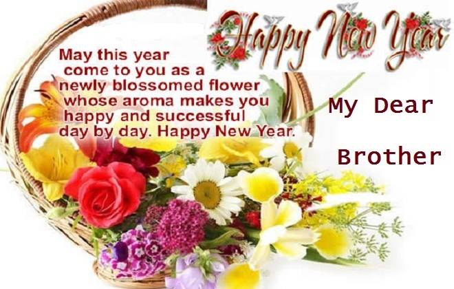 happy new year wishes for dear sister