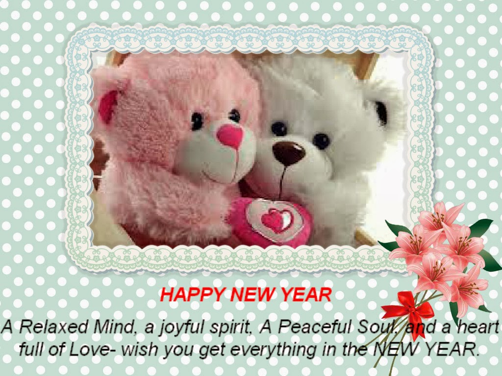 Happy New Year A Relaxed Mind A Joyful Spirit A Peaceful Soul And
