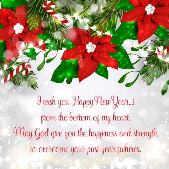 i wish you happy new year from the bottom of my heart